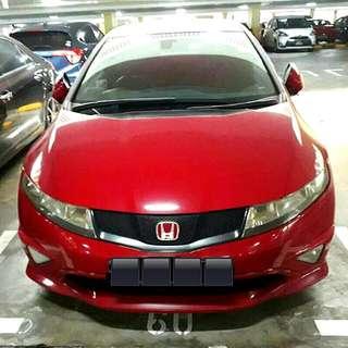Honda Civic Type R FN2R 2008 2.0L K20A DOHC I-VTEC Engine 6 Speed Manual Transmission  Status : 🇸🇬 Excellent Condition