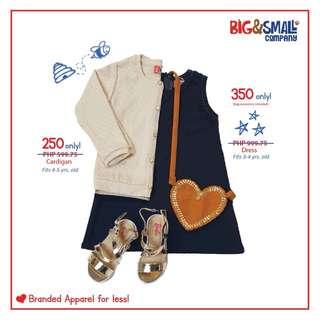 Navy Blue Shift Dress w/ Bag Accessory