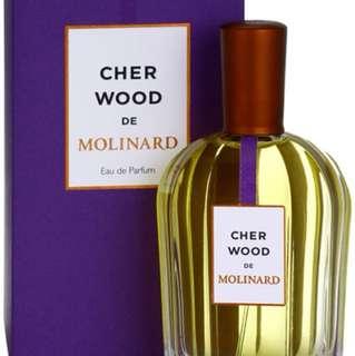 Cher Wood de Molinard EDP 90ml