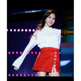 Twice. Mina同款打歌服