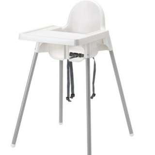 高腳兒童餐椅