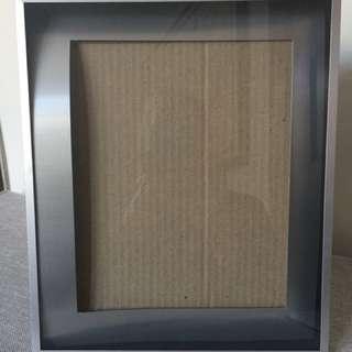 Silver Photo Shadow Box Frame