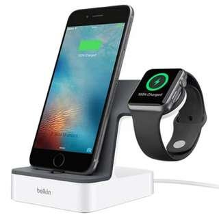Iphone&Iwatch充電坐