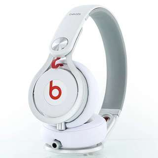 99%Beats by Dr. Dre Mixr White Headphones