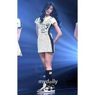 Twice   子瑜cheer up連身裙同款