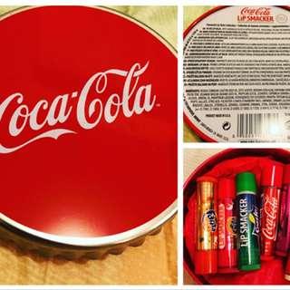 美國Coca Cola 潤唇膏 (收藏品)