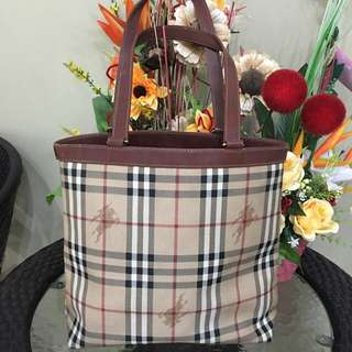 Authentic Burberry Bag (original)