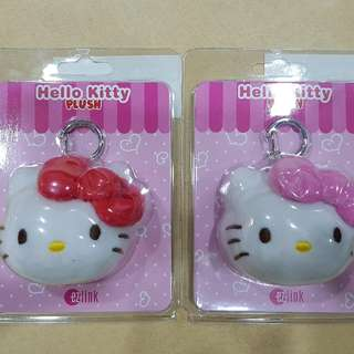 1 Pink & 1 Red Hello Kitty Hello Kitty Ezlink Charm