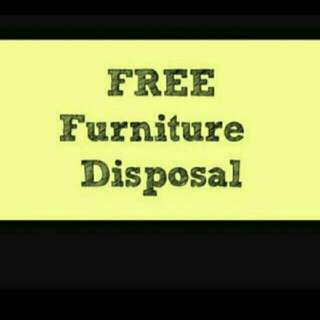 Free furniture disposal