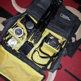 Dijual Mirrorless Nikon 1 J5 FULLSET + 3 Lensa (Kit + Fix + Tele)