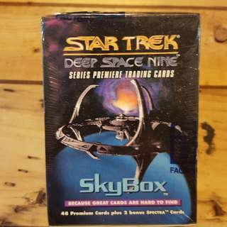 Skybox Star trek deep space nine series premiere trading cards