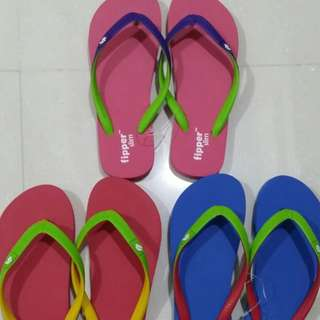 Flip-flops Slippers Fippers Slim Papilion