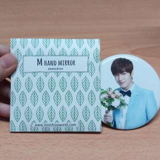 [BNIP] Lee Min Ho Hand Mirror