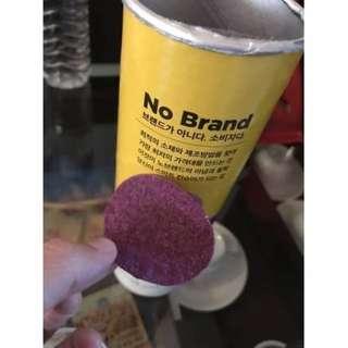 韓國 NO BRAND 紫薯洋芋片