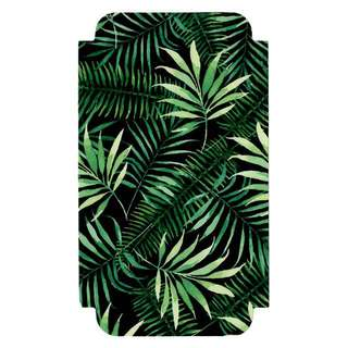iPhone X Skin Decal - LEAVES ON BLACK REDUX