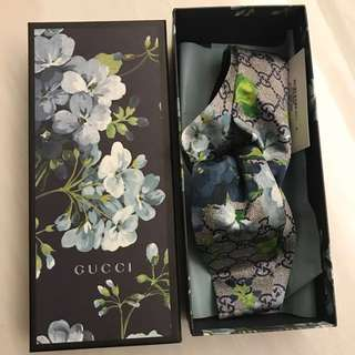 聖誕禮物 Gucci GG blooms silk headband