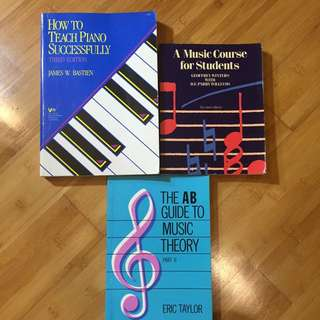 Teaching Music Books