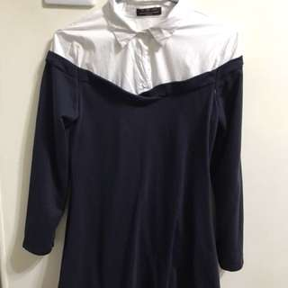 假兩件式洋裝 冬款 M號
