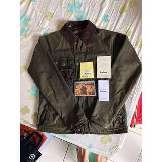 短期特價 Barbour spey fishing jacket 油布釣魚外套 S號