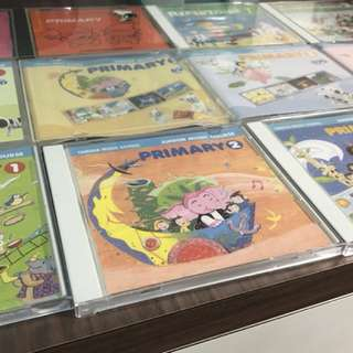 Yamaha Junior Music Course CD/DVDs