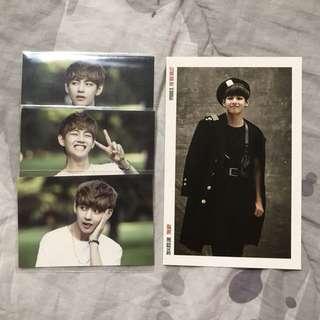 BTS (Bangtan) V - Kim Taehyung Photocards