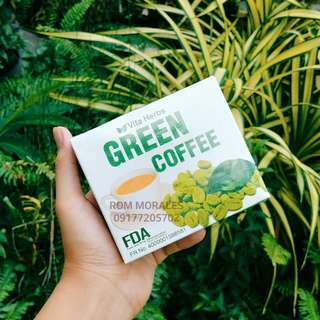 LOSE WEIGHT with GREEN COFFEE (Vita Herbs)