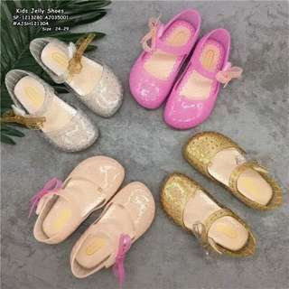 Kids jelly shoes size : 24-29