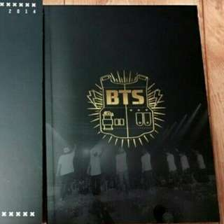 WTB :BTS MEMORIES 2014 (PHOTOBOOK ONLY)