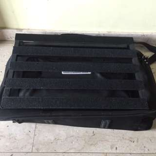 Rockboard by Warwick Tour Pedalboard 61x40x8cm with Carry Case Gig Bag Electric Guitar Pedal Board