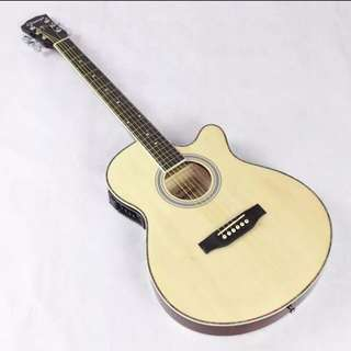 Brand new slim electric acoustic guitar