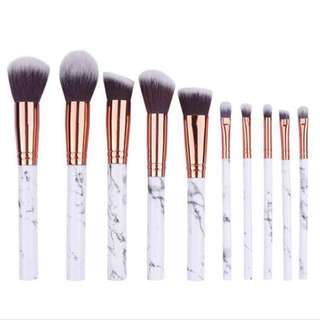 (INSTOCK) Marble Makeup Brushes