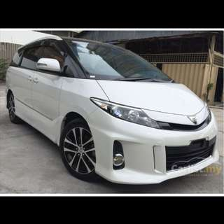 2 units of Toyota Estima MPV for long term rental and lease and grab usage