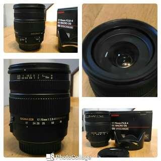 Sigma 17-70 2.8-4 公司貨 Canon 接環