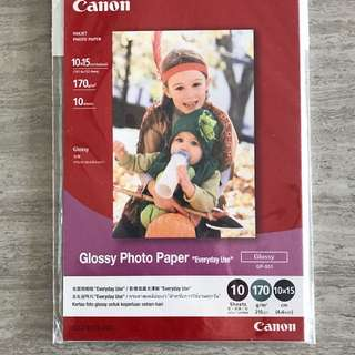 Canon Photo Paper (2 types)