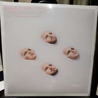 Kings of Leon walls vinyl record LP