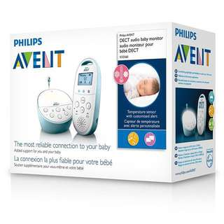 Philips AVENT DECT Baby Monitor Model SCD560