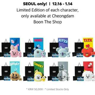 BT21 merch loose item