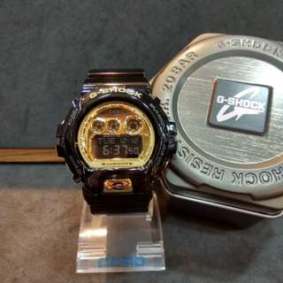 * FREE DELIVERY * Brand New 100% Authentic Casio Gshock Black Gold G Shock Digital Watch G-Shock GDX6900FB 1 GDX6900FB-1DR