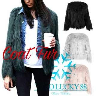 Coat bulu winter / jaket winter