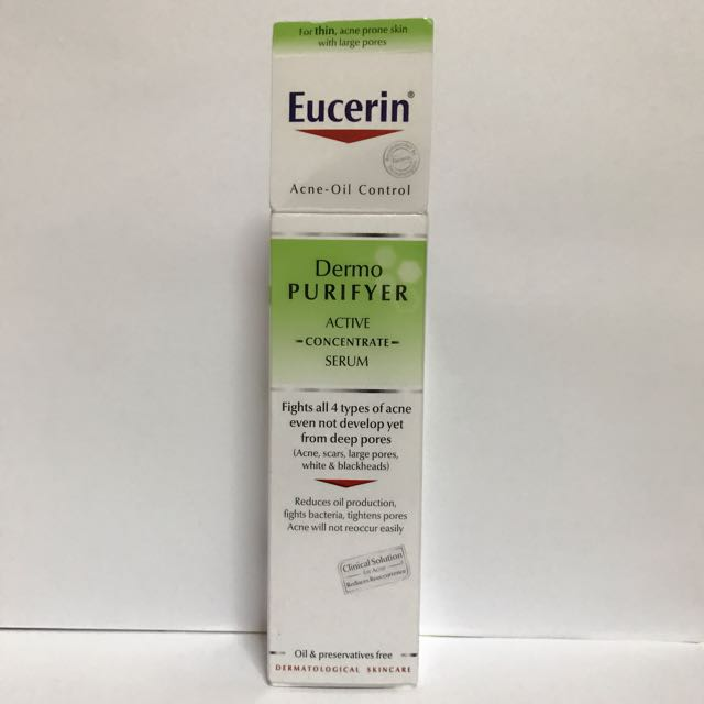 30% Discount) Eucerin DermoPURIFYER Active Concentrate Serum 30ml ... 7bbd90238e4