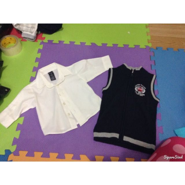 30 each for baby polo and clothes