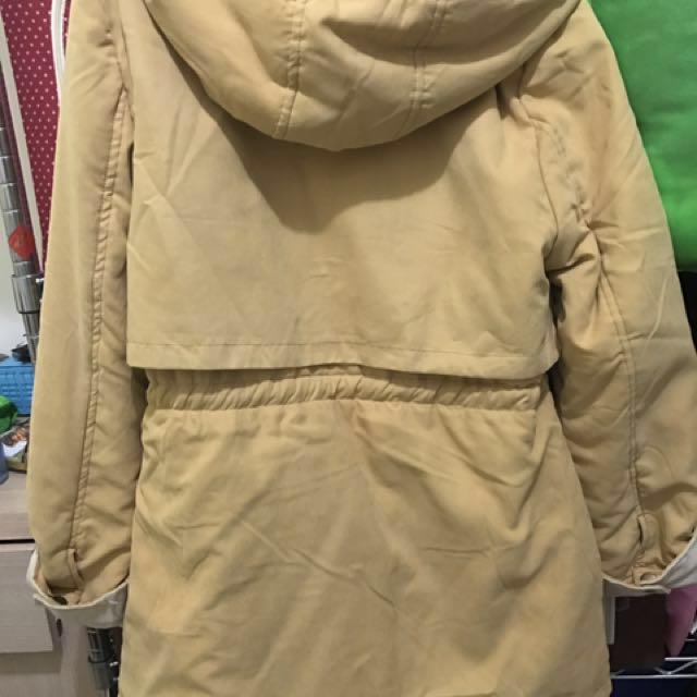 出清原價4000多 雙面鋪棉外套