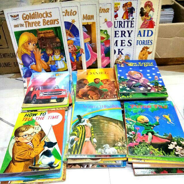 50pcs. Children's Fairy Tale Books