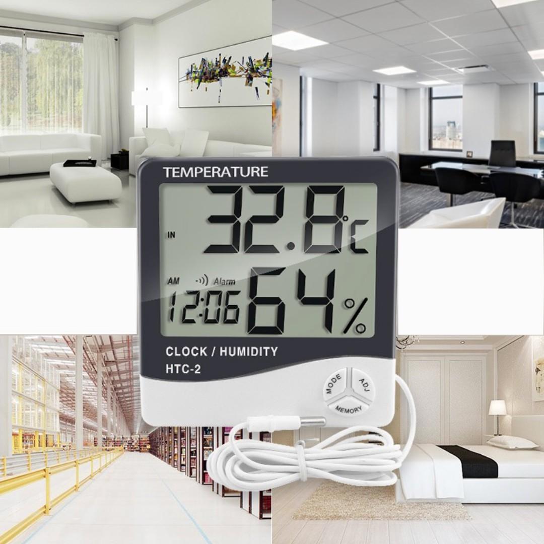 多功能電子溫濕度計/高精準度室內外溫度計/馬卡龍必備/可測水溫烘焙工具