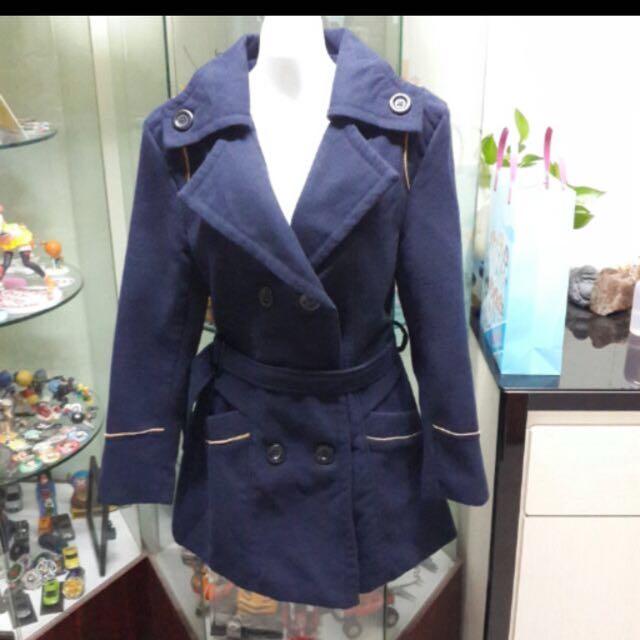 正韓深藍外套