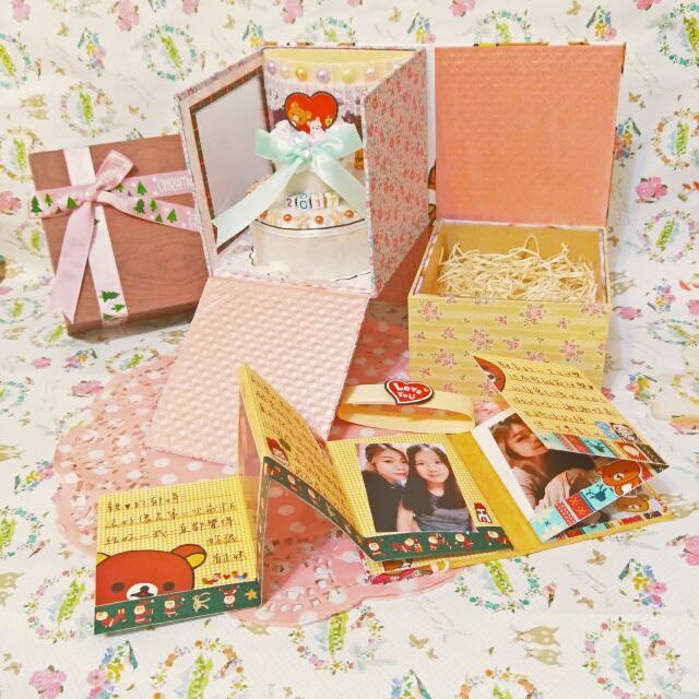 手工✨雙層聖誕禮物盒