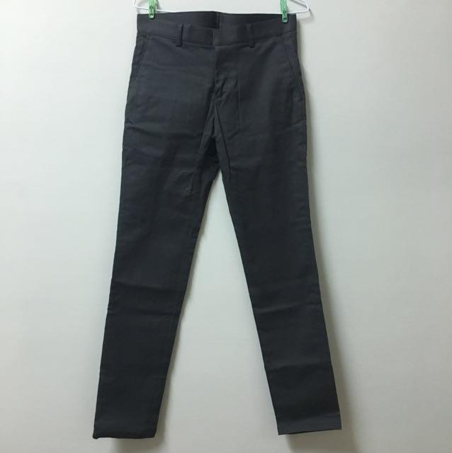代男友售)硬挺窄版修身西裝褲 28腰
