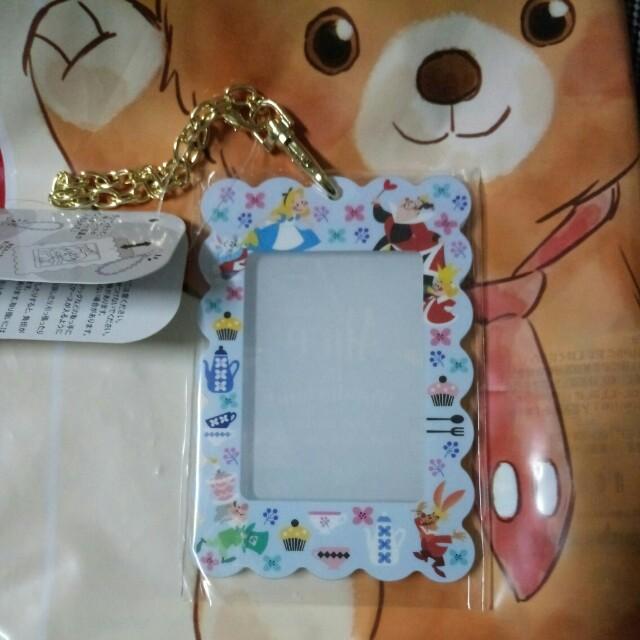 日本迪士尼 愛麗絲證件套/相片套