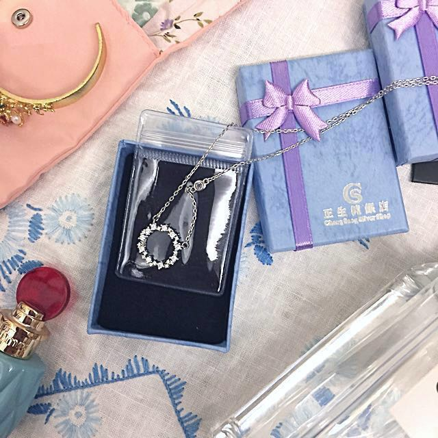 全新 香港正生 925純銀項鍊 #幫你省運費