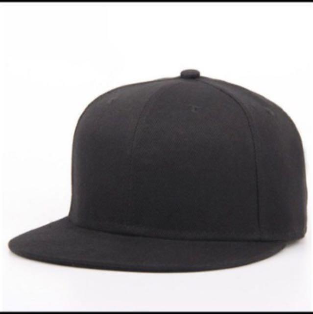 全素面棒球帽 全黑 #舊愛換新歡